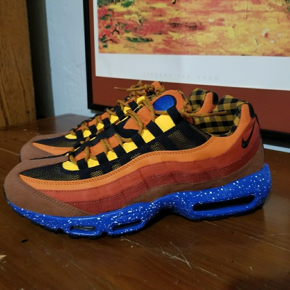 ed6d685f98f Nike Shoes | Air Max 95 Campfire Pack Sz 13 Barely Used | Poshmark